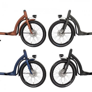 Dolly Bike Rahmen Farben 2019