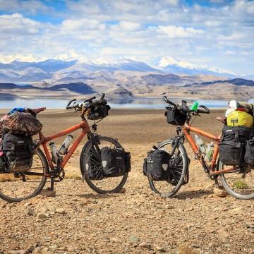 My Boo Densu Cross Bambus Fahrrad auf Weltreise